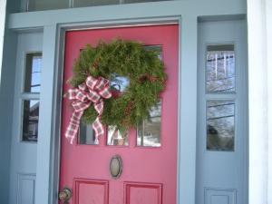front door_christmas 2013